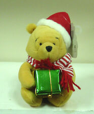 Disney Beanies - Christmas Pooh with Gift  Disney Beanie - new with tags