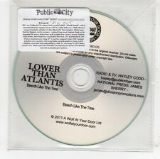 (FV855) Lower Than Atlantis, Beech Like The Tree - 2011 DJ CD