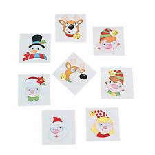 72 CHRISTMAS Wiggle Eye Stickers Holiday Stocking stuffers party favors