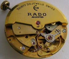 used Rado Felsa F 1560 watch movement 30 jewels adjusted