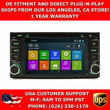 In Dash MulitMedia CD DVD GPS Bluetooth Navigation Radio Head Unit Player Scion