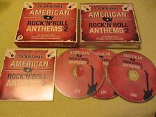American Rock N Roll Anthems 2 – 3 CD Album ft Elvis chuck Berry Buddy Holly