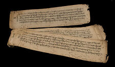 Manuscrit tibetain ancien -Antique Tibetan manuscript-24 pages-Tibet-6918