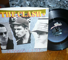 """* * CLASH SMASH """"SHOULD I STAY OR SHOULD I GO"""" CLEAN M- GEM 45 w/PICTURE SLEEVE!"""