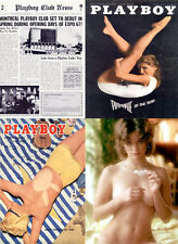 30 Vintage Playboy adult glamour magazines 1950's to 1970's cdr/dvd usa uk pdf