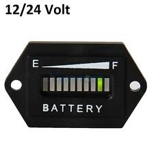 12V 24V LED Digital Lead Battery Tester Indicator Gauge Monitor Meter Panel