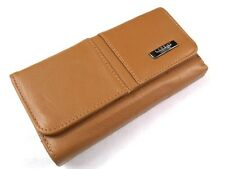 HIGH QUALITY DESIGNER GENUINE LEATHER PURSE CREDIT CARD HOLDER IN 6 COLOURS P12