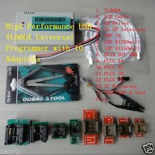 High Performance USB TL866A Universal Programmer with 10 Adapters for 12000 ICs