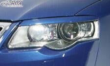 RDX faros cegar VW Passat 3c b6 malvado mirada ABS cegar alerón