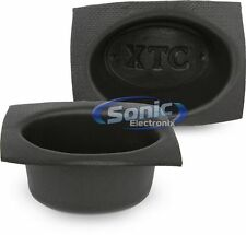 "The Install Bay VXT69 XTC 6"" x 9"" Foam Car Stereo Speaker Baffles"