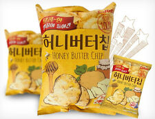 New HaiTai Honey Butter Chip 60g Korean Popular Potato Snack-1 bag