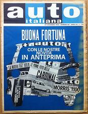 Auto Italiana - 1962 n° 52 - Coventry Climax 8V - Nautica - meccanica - corse
