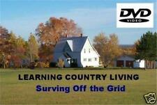 COUNTRY LIVING DVD Surviving Off the Grid NWO Doomsday Survival Homesteading