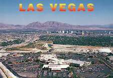 Aerial View of Meadows Mall, Las Vegas, Nevada, Shopping, Parking Lot - Postcard