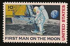 Apollo 11  Eagle Module First Man on the Moon Neil Armstrong US Space Stamp MINT