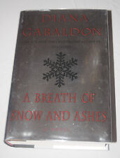 Signed Breath of Snow and Ashes Diana Gabaldon Autographed Hardcover Outlander