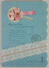 Blue Lace Cookie Japanese Sweet Lolita Notebook