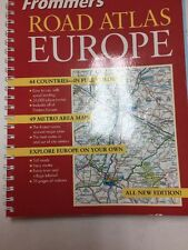 Road Atlas: Frommer's Road Atlas Europe 3 by British Auto Association Staff 2003