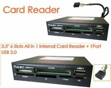"3.5"" All in One 1 USB Internal Multi Card Reader Writer For Mini Micro SD MMC MS"