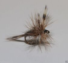 12 x Adams Dry TROUT FLIES for fly fishing rods and reels