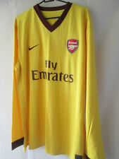 Arsenal 2012-2013 Player Issue Away Football Shirt XXL Long Sleeves /14017