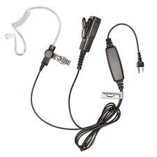Radio Icom Auricular (dos cables resistente Kevlar auricular con grandes PTT)