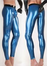 740 Latex Gummi Rubber Leggings Trousers cod piece Pants zipper customized 0.4mm