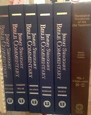 Jimmy Swaggart Bible Commentary ProverbsPsalms Galatins Ephesians Exodus 6 Books
