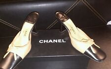 Authentic Chanel slip on shoes size 38.5