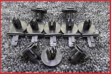 10 X BLACK VOLVO BOOT TRIM STRIP COVER CLIPS