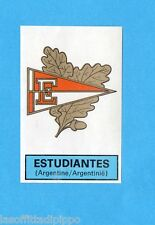 BELGIO-FOOTBALL 1972/73-PANINI-Figurina n.310- ESTUDIANTES -SCUDETTO/EMBLEEM-Rec
