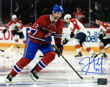 John Scott Montreal Canadiens Signed Autographed Home Action 8x10