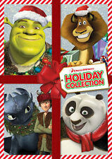 NEW - DVD Dreamworks Holiday Collection Kung Fu Panda Madagascar Shrek Dragons