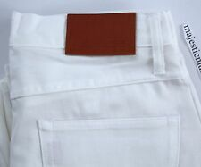 TELLASON LADBROKE GROVE WHITE DENIM 30 X 35 SLIM CONE MILLS USA JEANS BNWT NEW