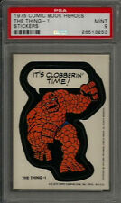 1975 Topps Comic Book Heroes The Thing-1 PSA 9 MINT Non-sport Sticker Card