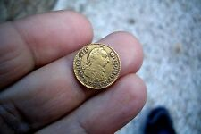 A66* Old Us Gold Excellent 1/2 Escudo 1783 Sevilla Mint Spanish Colonial Rare