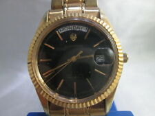 SANDOZ PRESIDENT STYLE DAYDATE GOLDPLATED AUTOMATIC MENS WATCH