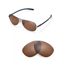 New Walleva Polarized Brown Replacement For Ray-Ban RB8301 59mm