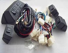 Universal 4 Rocker 5 wire Switch Kit case Door Lock Power Windows 12V for 4 door