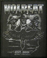 "VOLBEAT PATCH / AUFNÄHER # 4 ""EST. 2001"""