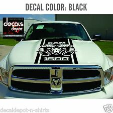 Hood Decal for DODGE Ram 1500, 2500HD, 3500HD / 2007 2008 2009 2010 2011 to 15