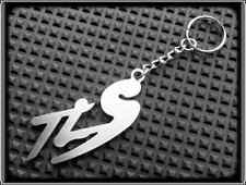 KEYRING for SUZUKI TL1000S TL TLS - STAINLESS STEEL - HAND MADE - CHAIN LOOP FOB