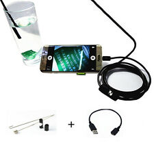 5.5mm Digital 2m USB For Android Phone Endoscope Inspection Waterproof Camera