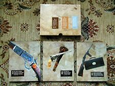 3 TEXAS RIFLE & GUN COLLECTIONS Winchester Colt Revolvers THREE AUCTION CATALOGS