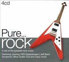 Pure... Rock by Various Artists (CD, Sep-2012, 4 Discs, Sony Music)