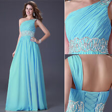 Long Chiffon Bridesmaid Prom Evening Ball Gown Cocktail Prom Maxi Long Dress