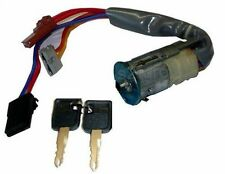 PEUGEOT 306 93-01 IGNITION SWITCH BARREL STEERING LOCK WITH KEYS 6PIN