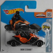 Hot Wheels - Snow Stormer Snowmobile orange/schwarz Neu/OVP