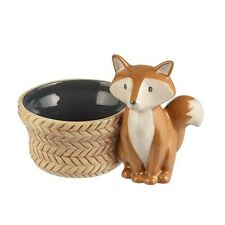 464884 Small Fox Bowl Dish Hunting Cabin Camping Forest Animal Lodge Decoration