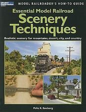 Essential Model Railroad Scenery Techniques (Model Railroader's How-To-ExLibrary